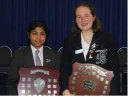 Girls shine in Rostrum Voice of Youth Public Speaking competition final